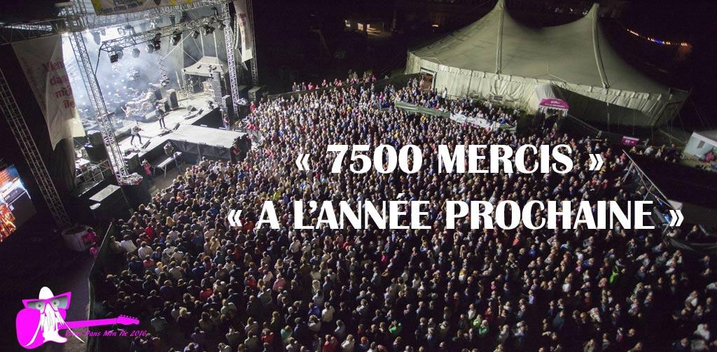Festival Yeu 2017... 7500 Mercis... A l'année prochaine